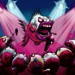 Sid Fishious full color digital painting